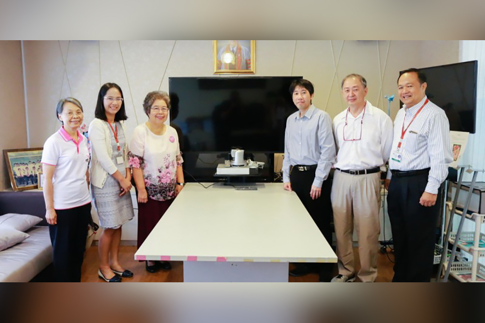 Teleconference Center Donation To KKU Department of  Surgery