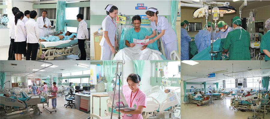CCA patients at 8C ward, Srinagarind hospital, KKU.