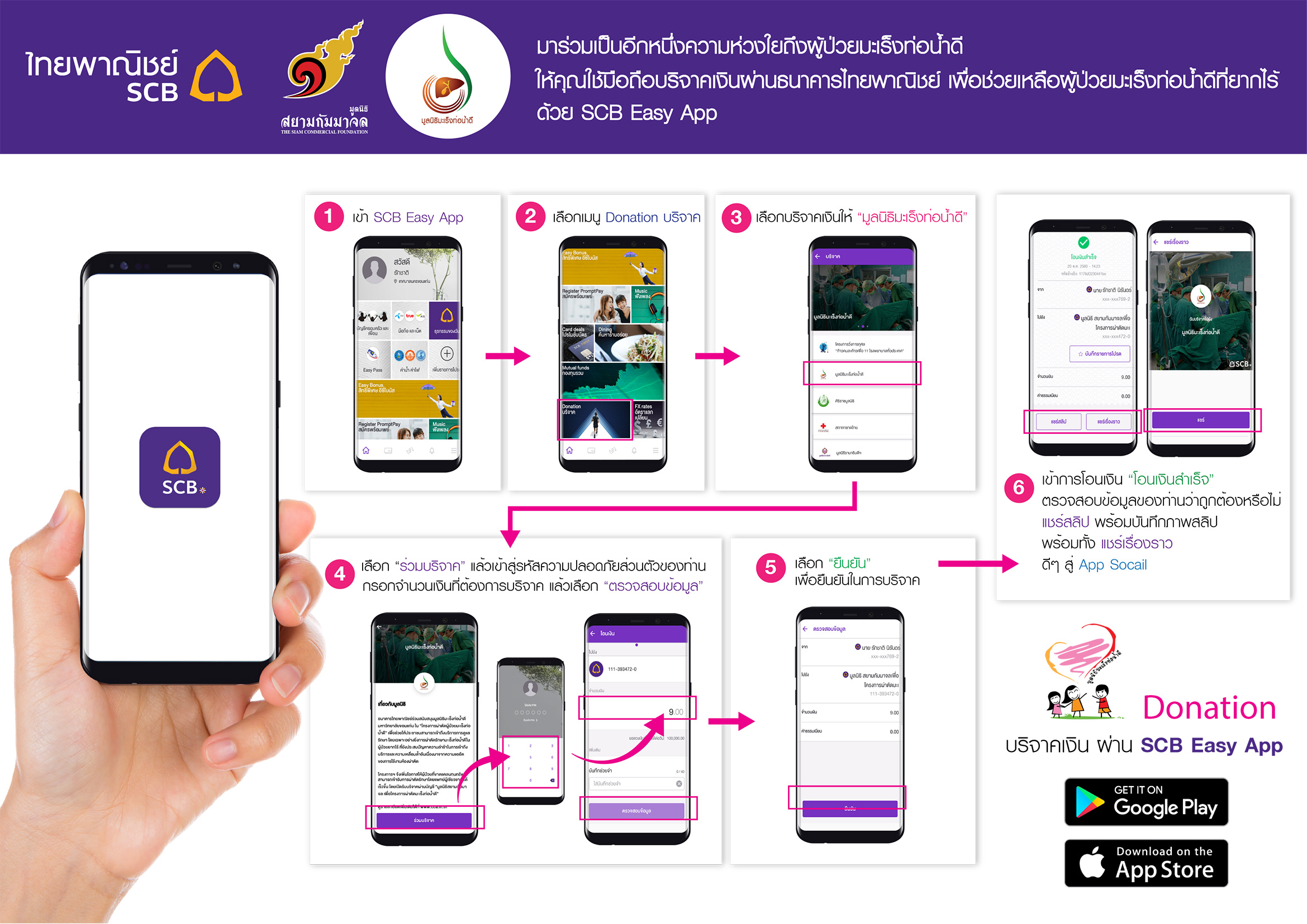 Donate-SCB-Easy-App-web